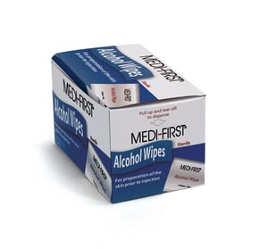 Medique Products Isopropyl Alcohol Wipe 50 Pack M22150