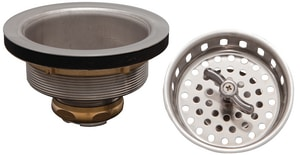 PROFLO® Stainless Steel Twist and Lock Basket Strainer with  Die-Cast Nuts PF1433SS