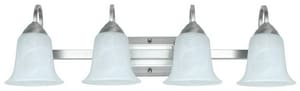 Feit Electric 4-Light 26W Wall Mount LED Vanity Fixture in Brushed Nickel F73805