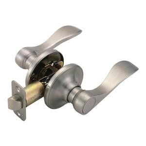 Westcraft 700 Series Wave Passage Lockset in Satin Nickel WC500PASSSN