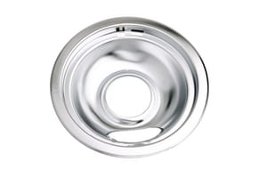 PROSELECT® 7-3/4 in. Drip Pan 6 Pack for Whirlpool Range in Polished Chrome PSDPPRW6