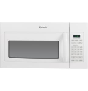 General Electric Appliances 29-7/8 in. 1.6 cf Over The Range Microwave Oven in White GRVM5160DHWW