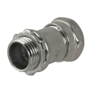 RACO 1/2 x 1/2 in. Steel Compression Connector R290