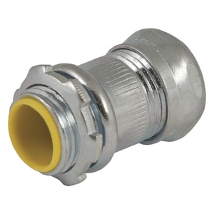 RACO 1/2 x 1/2 in. Insulated Steel Compression Connector R291