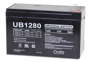 Universal Power Group 12V 8A Sealed Lead Acid Battery UD5743