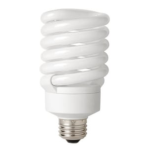 TCP 27W T3 Compact Fluorescent Light Bulb with Medium Base T48927
