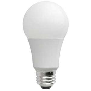 TCP 7W A19 LED Bulb 3000 Kelvin Dimmable TLED7A19DOD30K