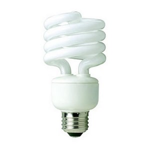 TCP 23W Spiral Compact Fluorescent Light Bulb with Medium Base T801023