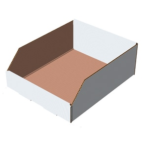 Landsberg 2 in. Cardboard Bin Box 25 Pack L844311