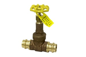 Apollo Conbraco 30 Series 1/4 in. Bronze Full Port NPT Gate Valve A3020101