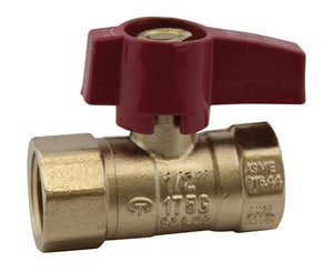 Apollo Conbraco GB-15 Series 1/2 in. Forged Brass FNPT Gas Ball Valve A51GF301A