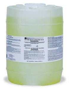 Sunburst Chemicals 5 gal Sunburst Sunsan Liquid Chlorine Sanitizer S550005