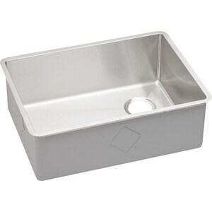 Elkay Crosstown® 25-1/2 x 18-1/2 in. Stainless Steel Single Bowl Undermount Kitchen Sink EECTRU24179R