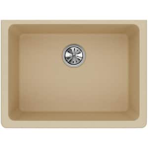 Elkay Quartz Classic® 24-5/8 x 18-1/2 in. Composite Single Bowl Undermount Kitchen Sink in Sand EELGU2522SD0