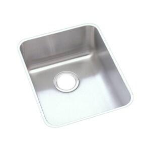 Elkay Lustertone™ 16-1/2 x 20-1/2 in. Undermount Stainless Steel Bar Sink in Lustrous Satin EELUHAD141850
