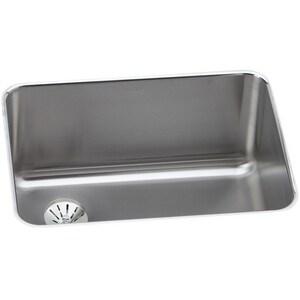 Elkay Lustertone® 1-Bowl Undermount Kitchen Sink in Lustertone (Less Hole) EELUH231710LPD