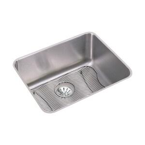 Elkay Lustertone™ 1-Bowl Undermount Kitchen Sink Package in Lustertone EELUH211510PDBG