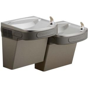 Elkay Flexi-Guard® Versatile Wall- Mount Bi- Level ADA Drinking Fountain Grey EEZSTLDDLC
