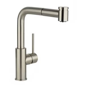 Elkay Harmony™ 1-Hole Pull-Out Spray Kitchen Faucet with Single Lever Handle in Brushed Nickel ELKHA3041NK