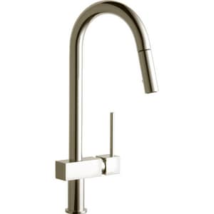 Elkay Avado® Single Handle Pull Down Kitchen Faucet in Brushed Nickel ELKAV1031NK
