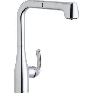 Elkay Gourmet® Single Handle Pull Out Kitchen Faucet in Polished Chrome ELKGT2041CR