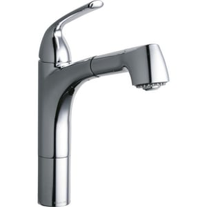 Elkay Gourmet® Single Handle Pull Out Kitchen Faucet in Polished Chrome ELKGT1041CR