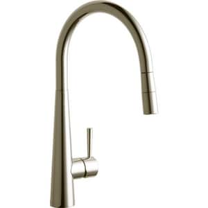 Elkay Harmony™ Single Handle Pull Down Kitchen Faucet in Brushed Nickel ELKHA1031NK