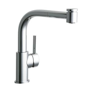Elkay The Mystic® 1-Hole Pull-Out Spray Kitchen Faucet with Single Lever Handle in Polished Chrome ELKMY1041CR