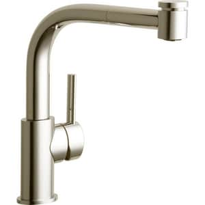 Elkay The Mystic® 1-Hole Pull-Out Spray Kitchen Faucet with Single Lever Handle in Brushed Nickel ELKMY1041NK