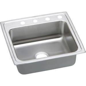 Elkay Gourmet® 22 x 19-1/2 x 6-1/2 in. ADA Stainless Steel Single Bowl Top Mount Sink ELRAD221965