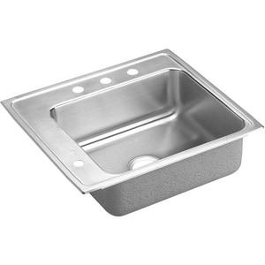 Elkay Pacemaker® 4-Hole 1-Basin Topmount Classroom Sink EPSDKR2220L4