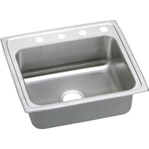 Elkay Gourmet Pacemaker® Stainless Steel Single Bowl Top Mount Sink 2 Hole EPSR22192