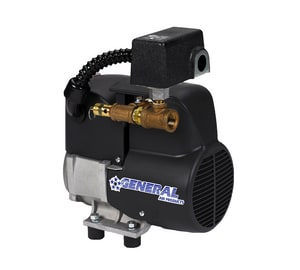 General Air Products 1/2 hp Single Phase Riser Mounted Air Compressor GQL25050AC