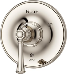 Pfister Tisbury™ 7 in. Valve Trim with Single Lever Handle in Polished Nickel PR891TBD