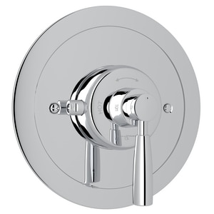 ROHL® Perrin & Rowe® Single Lever Handle Thermostatic Valve Trim in Polished Chrome RU5885LSTO