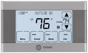 Trane NEXIA-T 4 Heat/2 Cool 7-Day Programmable Thermostat TTCONT624AS42DA