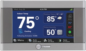 Trane NEXIA-T 4-31/50 in. 5 Heat/2 Cool 7-Day Programmable Thermostat TTCONT824AS52DA