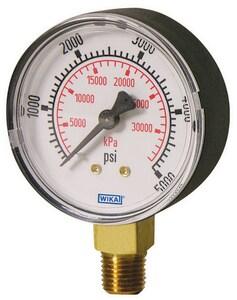Wika Instrument Lower Mount Pressure Gauge W42531