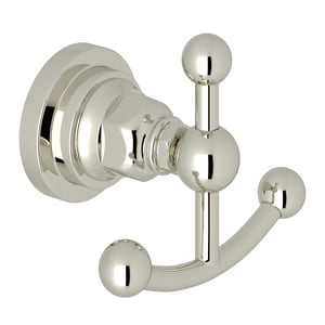 ROHL® San Giovanni 2 Robe Hook in Polished Nickel RA1481LIPN