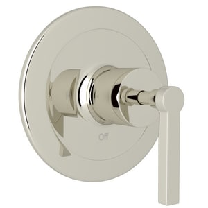ROHL® Avanti Pressure Balancing Valve Trim with Single Lever Handle in Polished Nickel (Less Diverter) RA2200LMPN