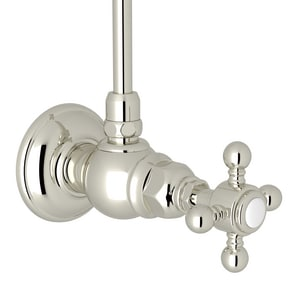 ROHL® Country Bath 1/2 in. Female x Angle Supply Stop Valve RA5578XMPN2
