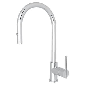ROHL® Modern Kitchen Single Handle Pull Down Kitchen Faucet ...