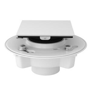 ROHL® 3 in. Push On Plastic White Shower Drain RSDPVC23