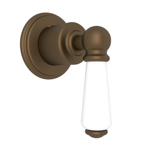 ROHL® Perrin & Rowe® Single Lever Handle Concealed Wall Valve in English Bronze RU3240LEBTO