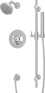 ROHL® Italian Country Bath Pressure Balance Shower Package in Polished Chrome RMODKIT36XAPC