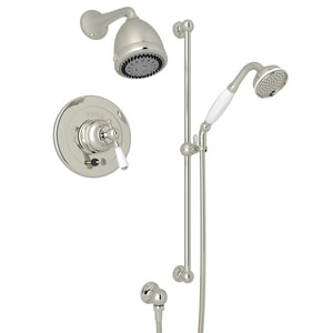 Perrin & Rowe® Bath California Energy Commission Registered 2.0 1 Handle Lever Pressure Balance Shower Trim RUKIT24LPN