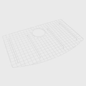 ROHL® Shaws 26-1/4 in. Wire Sink Grid for Rohl RC3021 Grid in White RWSG3021WH