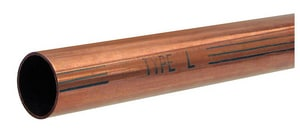 1/2 in. x 20 ft. Hard Type L Copper Tube LHARDD20