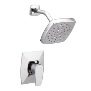 Moen Via™ 2.5 gpm Pressure Balancing Shower Trim with Single Lever Handle in Polished Chrome MTS8712
