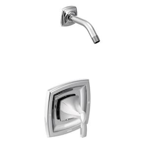 Moen Voss™ Single Handle Shower Faucet in Polished Chrome MT3692NH